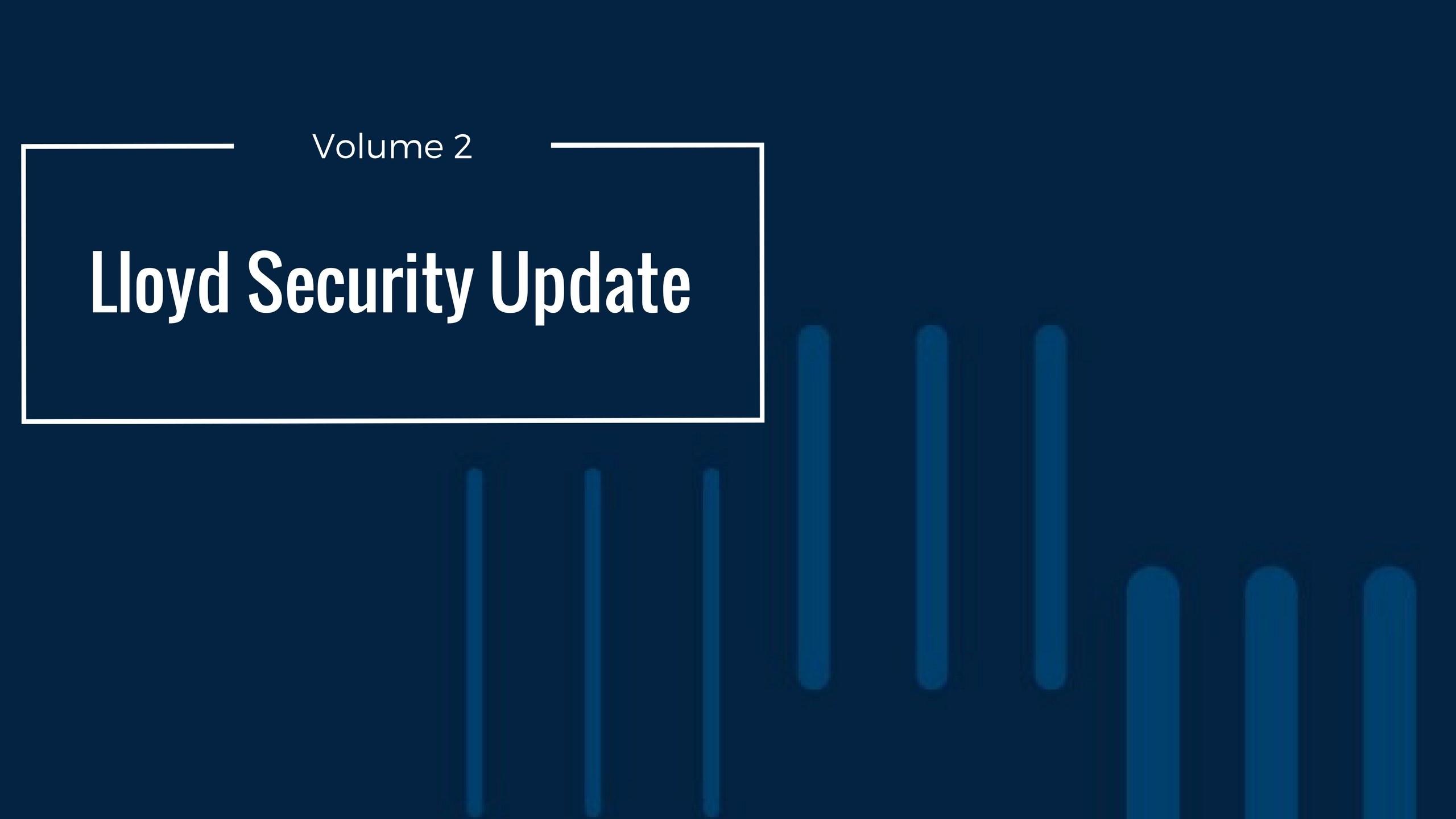 Security Update | Vol 3
